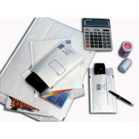 Buy cheap Custom White Recycled Kraft Bubble Mailer Envelopes With Peel / Seal product