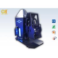 Buy cheap 3m² 720 Space Flip VR Simulator Games Gold Hunter Space Chair Black & Blue Color product