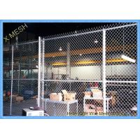 Buy cheap 11 Gauge Chain Link Fence Fabric , 50 Foot Chain Link Privacy Screen For Security from wholesalers