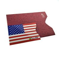 Buy cheap Customized Color RFID Blocking Card Sleeve Fits In Wallet 90*62*2mm from wholesalers