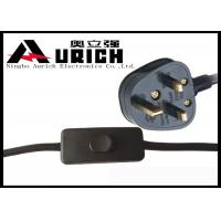 Buy cheap 3 Pin Assembled Plug UK Power Lead With Fuse Saso Certificate 13A 250V from wholesalers