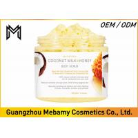 Buy cheap Deep Exfoliating Skin Care Body Scrub Coconut Milk / Honey Comb Reduces Oiliness product