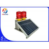 Buy cheap AH-MS/D Medium-intensity Double Solar Aviation Obstruction Light from wholesalers