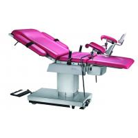 Buy cheap 1630mm length 304 stainless steel Pink Delivery Table With Foot Control product