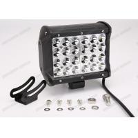 Buy cheap 72W Cree 4 Row LED Offroad Light Bar Waterproof With Diecast Alumium Housing from wholesalers