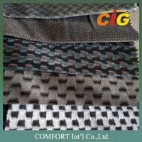 Buy cheap Colorful Tricot  Soft Jacquard Car Upholstery Fabric 100% Polyester product