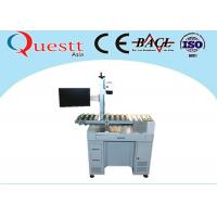 Buy cheap Automatic Fiber Laser Marking Machine With Automatic Conveyor Device Transferring from wholesalers