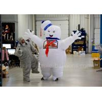 Buy cheap Funny Inflatable Man Costume Inflatable Stay Puft Marshmallow Man Costume With Blower from wholesalers