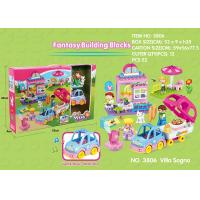 Buy cheap Fire Station Building Blocks Educational Toys W / Functions For Age 3 Years Kids 49Pcs product
