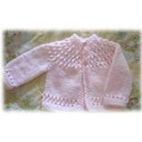 Buy cheap Cotton OEM / lovely Infant knit baby cardigan pattern for 7 - 12 months baby from wholesalers