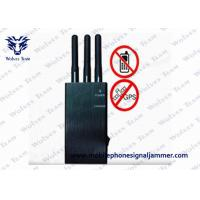 Buy cheap 5 Band Portable Cell Phone Jammer , Wifi Signal Scrambler Woring Range 1 - 10m from wholesalers