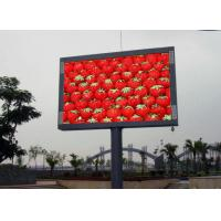 Buy cheap Energy saving outdoor led advertising signs Boards P8 full color long life span from wholesalers