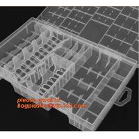 Buy cheap PP plastic storage box for electronic components storage, Adjustable Storage Box Plastic Case Home Organizer Jewelry Bea from wholesalers