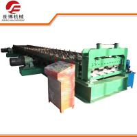 Buy cheap High Speed Floor Tiles Making Machine For 0.8mm - 1.2mm Thickness Steel from wholesalers