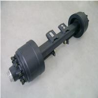 Buy cheap 13t container semi trailer axle from wholesalers