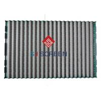 Buy cheap Derrick FLC 2000/48-30 PMD Green Shale Shaker Screen Durability Rectangle Shape product