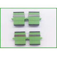 Buy cheap Green SC Fiber Optic Connector Adapters / Optical Fiber Adapter Single Mode from wholesalers