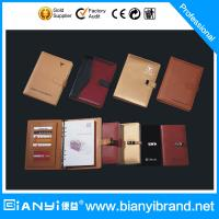Buy cheap Fashion New design And High quality brand notebooks with pen holder from wholesalers