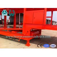 Buy cheap Customized Carbon Steel Car Carrier Semi Trailer To Carry Car 2 Axels from wholesalers