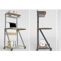 Buy cheap Home Double Deck Mobile Simple Computer Desk Modern Small Apartment 70cm from wholesalers