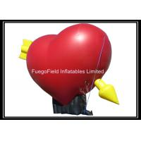 Buy cheap Heart Shaped Inflatable Advertising Products for Valentine's Day from wholesalers