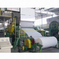 Buy cheap 4 to 5T/Day Tissue Paper-making Machine with Waste Paper/Virgin Pulp/Wheat Straw Raw Materials from wholesalers