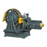 Buy cheap AC-2 Drive Geared Traction Machine , 0.5m/s - 1.0m/s YJ245 from wholesalers