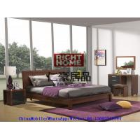 Buy cheap 2016 New Nordic Design Modern Bedroom Furniture King size bed with Mirror Dresser and Side table product
