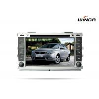 Buy cheap Black screen player stereo dvd with gps 1024 600 1.6GHZ for car Kia Cerato K3 Forte 2012 from wholesalers