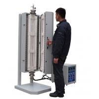 Buy cheap 1200°C  Vertical 3 zones Split Tube Furnace for lab using from wholesalers