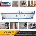 Buy cheap kitchen cabinet door vacuum membrane press machine from wholesalers