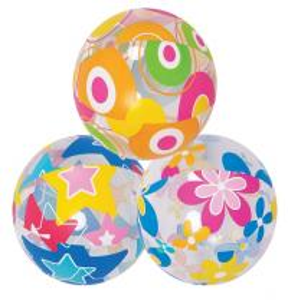 Buy cheap 3pcs Lovely Cute Sea Creature Clear Beach Ball Lively Print Beach Ball product