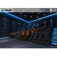 Buy cheap ISO Certificate 4D Dynamic Cinema Equipment With Pneumatic Customize Motion Chairs product