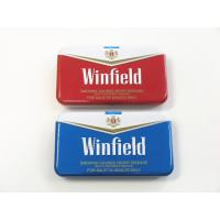 Buy cheap Winfield Quality Cigarette Tin Can Metal Cigarette Case Cigarette Case With Lighter from wholesalers
