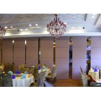 Buy cheap College Top Hanging Operable Partition Wall / Folding Room Partitions from wholesalers