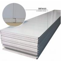 Buy cheap Waterproof Fireproof Light Weight Metal Sandwich Panels Excellent Thermal Insulation Performance from wholesalers