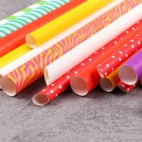 Buy cheap Convenient Lightweight Baby Shower Paper Straws BPA Free Compostable from wholesalers