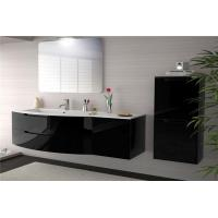 Buy cheap Single color and stainless steel sink  make custom bathroom vanity people like from wholesalers