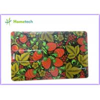 Buy cheap Fashion Credit Card USB Storage Device Pendrive 1 GB to 32 GB with Logo Print from wholesalers