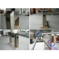 Buy cheap Biometric function rolling gate tripod turnstile with counter in rustproof stainless steel from wholesalers