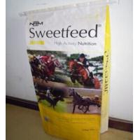 Buy cheap Recycled Colorful Polypropylene Woven horse feed bags 50kg , 25kg from wholesalers