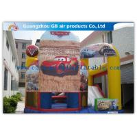 Buy cheap Popular Car Inflatable Combo Bouncing Castles Inflatable Jumping Castle Combo from wholesalers