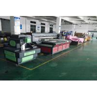 Buy cheap Piezoelectric Ink-jet Large UV Flatbed Printers 2500X1300mm CMYK+W/CMYK from wholesalers