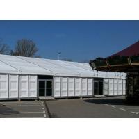 Buy cheap 15m X 30m Heavy Duty Outdoor Tents Waterproof ABS Wall With Glass Door product