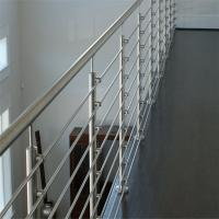 Buy cheap SS316 Material Exterior hand railing systems with solid rod design from wholesalers