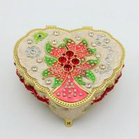 Buy cheap Zinc Alloy Heart Shape Musical Jewelry Box from wholesalers