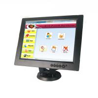 Buy cheap 12 Inch Cup Dolly POS Touch Screen Monitor Touch LCD Display Black Color from wholesalers