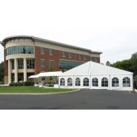 Buy cheap wedding marquee tent 10x30 m wedding tent,  white color with linings for 200 people from wholesalers
