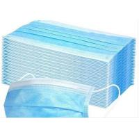 Quality Anti Pollution Disposable Earloop Face Mask Non Irritating Moisture Proof for sale