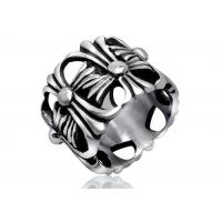 Buy cheap High Polished Personalized Stainless Steel Rings Multi Flower Cast , Lead Free product
